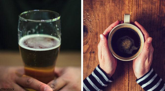 Алкоголь и кофе могут продлить жизнь, но есть подвох