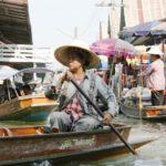 Плавучий рынок в Хуа Хине