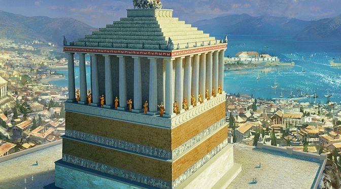 Мавзолей в Галикарнасе и Висячие сады Семирамиды — одни из 7-ми чудес света