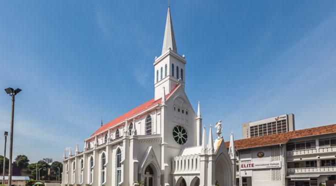 Церковь Лурдской Божией Матери в Сингапуре